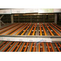 Wholesale Dynamic Carton Flow Rack / Pallet Flow Rack Systems With Inclined Rollers from china suppliers