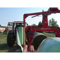Buy cheap 750/500mm x 25um PE foils corn agriculture hay wrap wrapping silage bales from wholesalers
