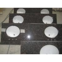 Wholesale Tanbrown vanity top with ceramic sink from china suppliers