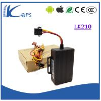 Wholesale High Quanlity 3G  Internal Antenna Car GPS Locator Tracker , Motorcycle Gps Tracking Device lk210-3g from china suppliers