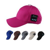China New Design Bluetooth Music Cap , Fashion Music Baseball Hats With Earphones for sale