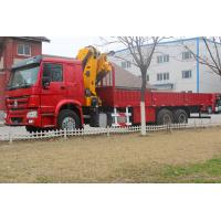 Wholesale Heavy Duty 12 Ton Truck Mounted Telescopic Crane 6x4 LHD Truck Cargo Lift from china suppliers