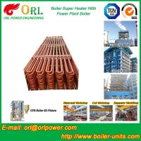 Wholesale Convection Platen CFB Boiler Superheater In Thermal Power Plant from china suppliers