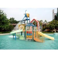 Wholesale 6.5 M Kids Water House / Water Playground Equipment for Swimming Pool in Aqua Park from china suppliers
