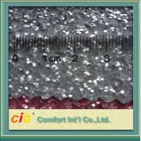 Wholesale Decoration Glitter Shiny PVC Synthetic Leather Fabric for home decoration / gift cover from china suppliers