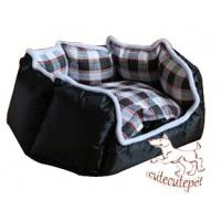 Wholesale Black mat for dogs, with polyester material. from china suppliers