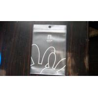 Wholesale Eco-Friendly Plastic Pouch Packaging With Zipper For Gloves Packaging from china suppliers