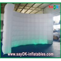 Wholesale Fire-proof Inflatable Led Wall Curved Lighting Wall For Wedding from china suppliers