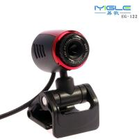 Wholesale high quality USB2.0 driver free PC Webcam with Microphone/IYIGLE computer Wbcam HD from china suppliers
