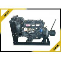 4 . 33 L Stationary Diesel Engine With Clutch ,  48 KW  Industrial Diesel Engines 2000 Rpm