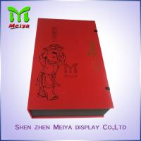 Wholesale Recyclable Tea Gift Boxes With Plastic Tray And Clasp , food gift boxes packaging from china suppliers