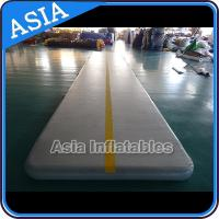Wholesale Rectangle Shape Gym Sport  Inflatable Tumble Track In 20cm For Cheerleading from china suppliers