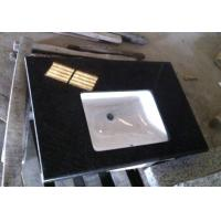 Wholesale Black Pearl Granite Bathroom Vanity Top from china suppliers