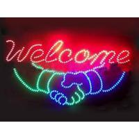 Wholesale 560x330mm ABS frame customised  led store sign from china suppliers