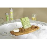 Wholesale 2012 Bamboo Bathtub Caddy from china suppliers