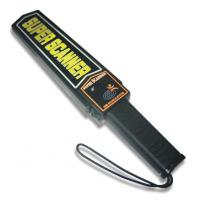 Wholesale Rechargeable Double Indication Airport Security Handheld Metal Detector from china suppliers