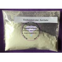 Wholesale Bodybuilding Testosterone Anabolic Steroid Raw Powder Testosterone Acetate Cycle Test A Steroids from china suppliers