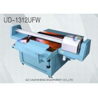 Wholesale Outdoor CMYK White Wide Format Flatbed Printer UV Ink Galaxy UD 1312UFW from china suppliers
