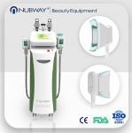 Wholesale Fat Burning 5 handles Vacuum Cavitation+RF+Cryolipolysis Radio Frequency slimming machine from china suppliers