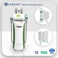 Wholesale Fat Burning 5 handles Vacuum Cavitation+RF+Cryolipolysis Radio Frequency slimming machine from china suppliers