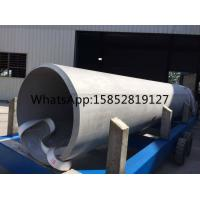 Quality TP321 Heavy Wall Stainless Steel Pipe , Large Diameter Stainless Steel Pipe ASTM A358 , A789 for sale