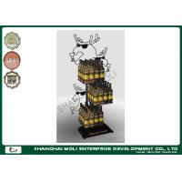 Wholesale Retail animal shape iron wire beer / wine display racks 3 tier drink shelves in store from china suppliers