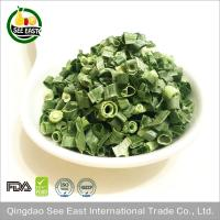 Quality 100% Natural fd vegetable freeze dried green onion for fast food for sale