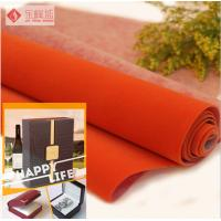 Wholesale Square Woven Jewelry Box Lining Fabric , Polyester Velvet Upholstery Fabric from china suppliers