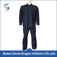 Wholesale Breathable Patrol Duty Uniform For Men , Custom Security Uniform Shirts from china suppliers