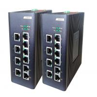 Wholesale 8E + 2G fiber Network Switch , 8 100M TX ports + 2 100 / 1000M TX ports industrial Unmanaged switch from china suppliers