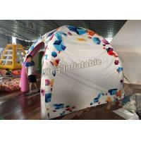 Wholesale New design 3*3m airtight  inflatable spider tent for advertising or event from china suppliers