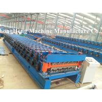 Wholesale Two models roofing sheet roll forming machine with speed 10-15 m /min from china suppliers