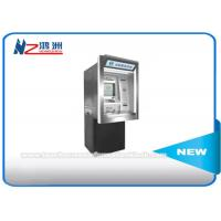 Wholesale Subway Station Self Service Cash ATM Kiosk Machines , Floor Standing Bill Acceptor Kiosk from china suppliers