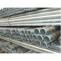 Wholesale Round ERW Pre Galvanized Steel Pipe With Plain / Beveled Ending DIN JIS from china suppliers