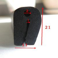 Wholesale Extruded Epdm Foam U - Shaped Rubber Channel Seal For Cabinet Box from china suppliers