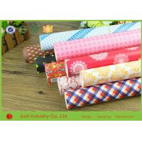 Quality OEM Roll Wrapping Paper Multi Color 4 cm Diameter For House Decorative / Book for sale