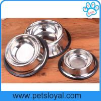Wholesale Wholesale low price metal dog bowls stainless steel pet Dog bowl China Factory from china suppliers