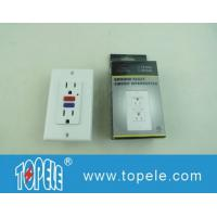 Wholesale 125V Tamper Resistant  Commercial Duplex GFCI Receptacles with LED Indicator Light from china suppliers