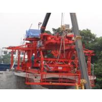 Buy cheap Electric Winches Segment Lifter / Lifting Systems Mobility With Rubber Tyre Mounted from wholesalers