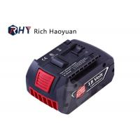 Quality 4000mAh Bosch Cordless Drill Battery Replacement , Rechargeable 18v Lithium Ion Battery for sale