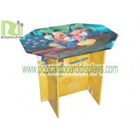 Wholesale Printing Type Folding Cardboard Furniture Cardboard Corrugated Table from china suppliers