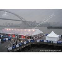 Wholesale Anodized Aluminum Framed High Peak Tents , High Peak Marquees Clear Pvc Window from china suppliers