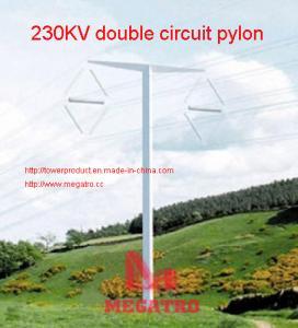 Buy cheap MEGATRO 230KV double circuit pylon from wholesalers
