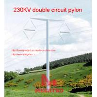 Buy cheap MEGATRO 230KV double circuit pylon from wholesalers