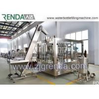 Wholesale Stainless Steel Gas Beverage Filling Unit , Washing Filling Capping Machine 5.5KW from china suppliers
