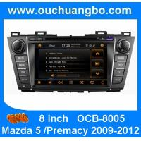 Wholesale Car CD player for Mazda 5 /Premacy 2009-2012 with auto gps navigation OCB-8005 from china suppliers