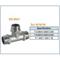 Wholesale brass plumbing fitting tee male from china suppliers