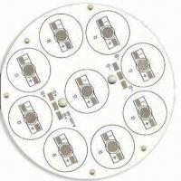 Buy cheap Aluminum Base PCB with White Silkscreen and HASL Surface Finish, Single Layer from wholesalers