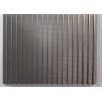 Wholesale Mini High Precision Wedge Wire Screen Panels 300mm X 200mm For Filtration Plants from china suppliers