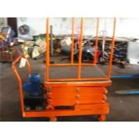 Wholesale Self Propelled Scissor Lift hydraulic mini lift platform ISO9001 2008 from china suppliers